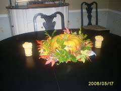 our Fall table