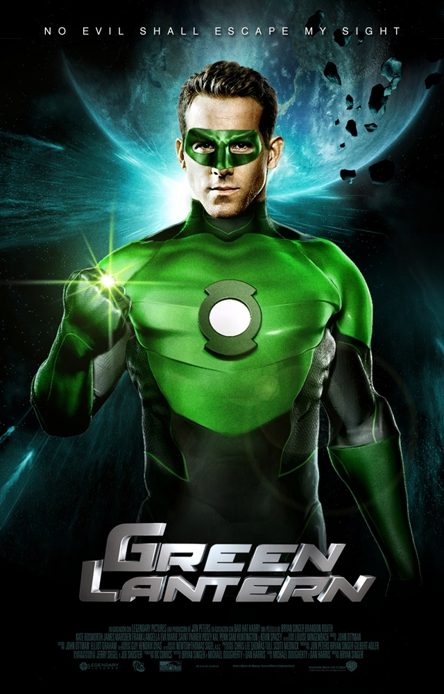 affiches et bande annonce green lantern de martin cbell into the screen