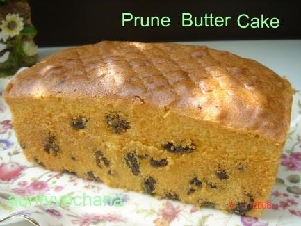 Yochana's Cake Delight! : Prune Butter Cake