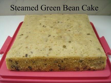 Yochanas Cake Delight! : Steamed Green Bean & Prune Cake