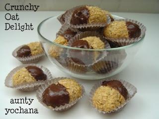 Yochana's Cake Delight! : Crunchy Oat Delight