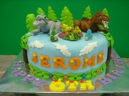 Dinosaur Cake Mould Recipe