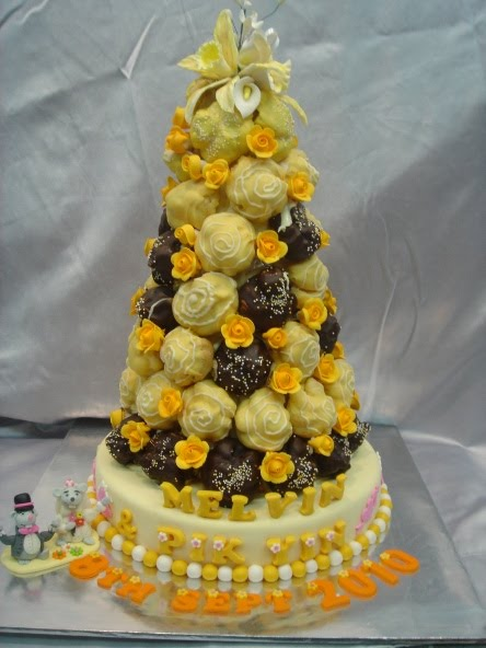 Yochana S Cake Delight Profiteroles Croquembouche