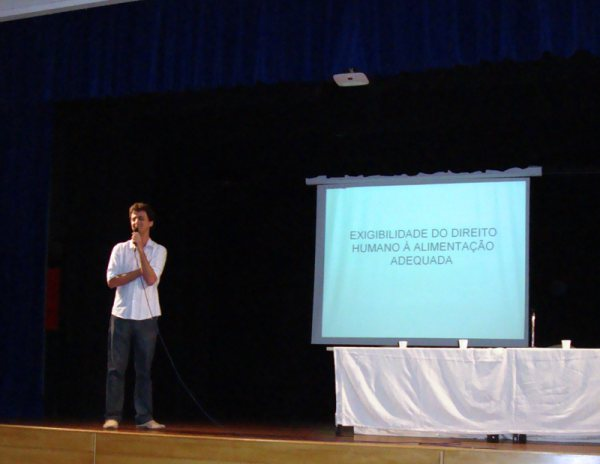 Palestra do Prof. Marcelo Sipioni - Exigibilidade do DHAA