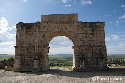 Triumphal Arch of Caracalla in Volubilis