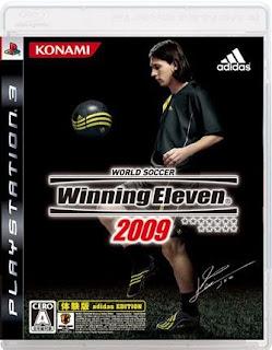 KONAMI、PS3用「WE2009 体験版