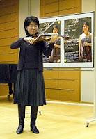 バイオリニスト・玉井さん