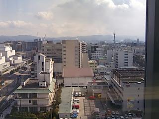 滋賀県警本部10Fからの景色