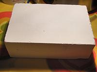 bloque ceramica   Soplete,  rejilla y fibra de cerámica