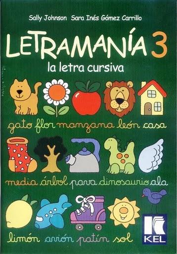 LETRAMAN  A 3  LETRA CURSIVA