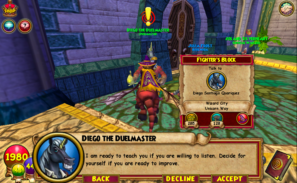 Wizard101 Information Celestia Diaries Number One