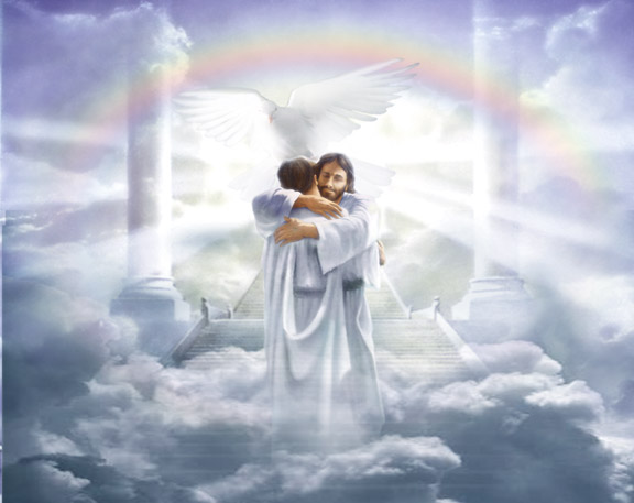 Heaven Gates With Angels to Heaven Gates Image