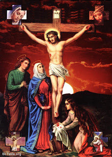The Crucifixion Of Jesus Christ and Saint Mary Picture  Free jesus Christ Crufixion Wallpapers and Pictures