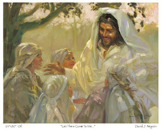 Beautiful drawing art of Jesus and Children Image Free download Jesus Christ Wallpapers and Images