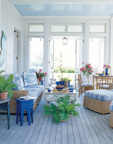 SHELTER Inspirationporch sunroom