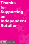 supporting an indie retailer