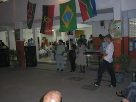 """Início do Projeto """" A cor da Africa""""...E.M. JANIR CLEMENTINO PEREIRA."""