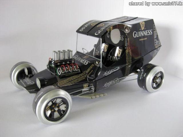 Mobil-Mobilan Dari Kaleng Bekas