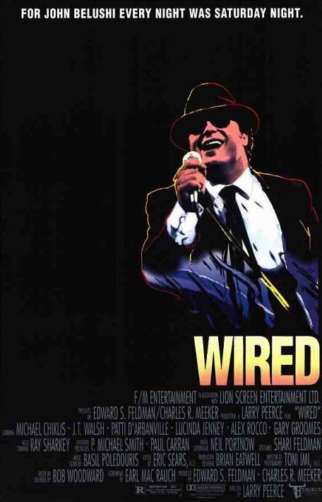 BLACK HOLE REVIEWS: WIRED (1989) - and bad movies about movie stars