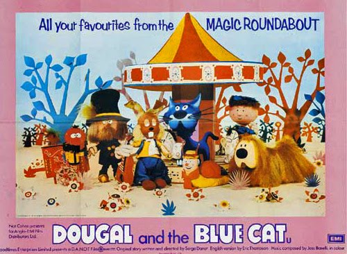 Image result for dougal and the blue cat poster