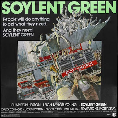 Black hole reviews soylent green 1973 film vs book for Soylent green is people