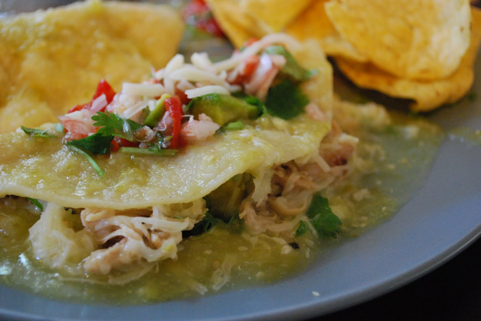 how to make canned enchilada sauce better