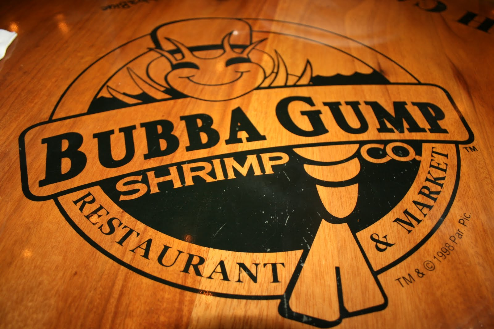 Bubba Gump Shrimp Logo From Movie The film