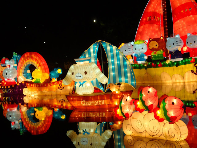 Hello Kitty Lantern Festival Cinnamoroll