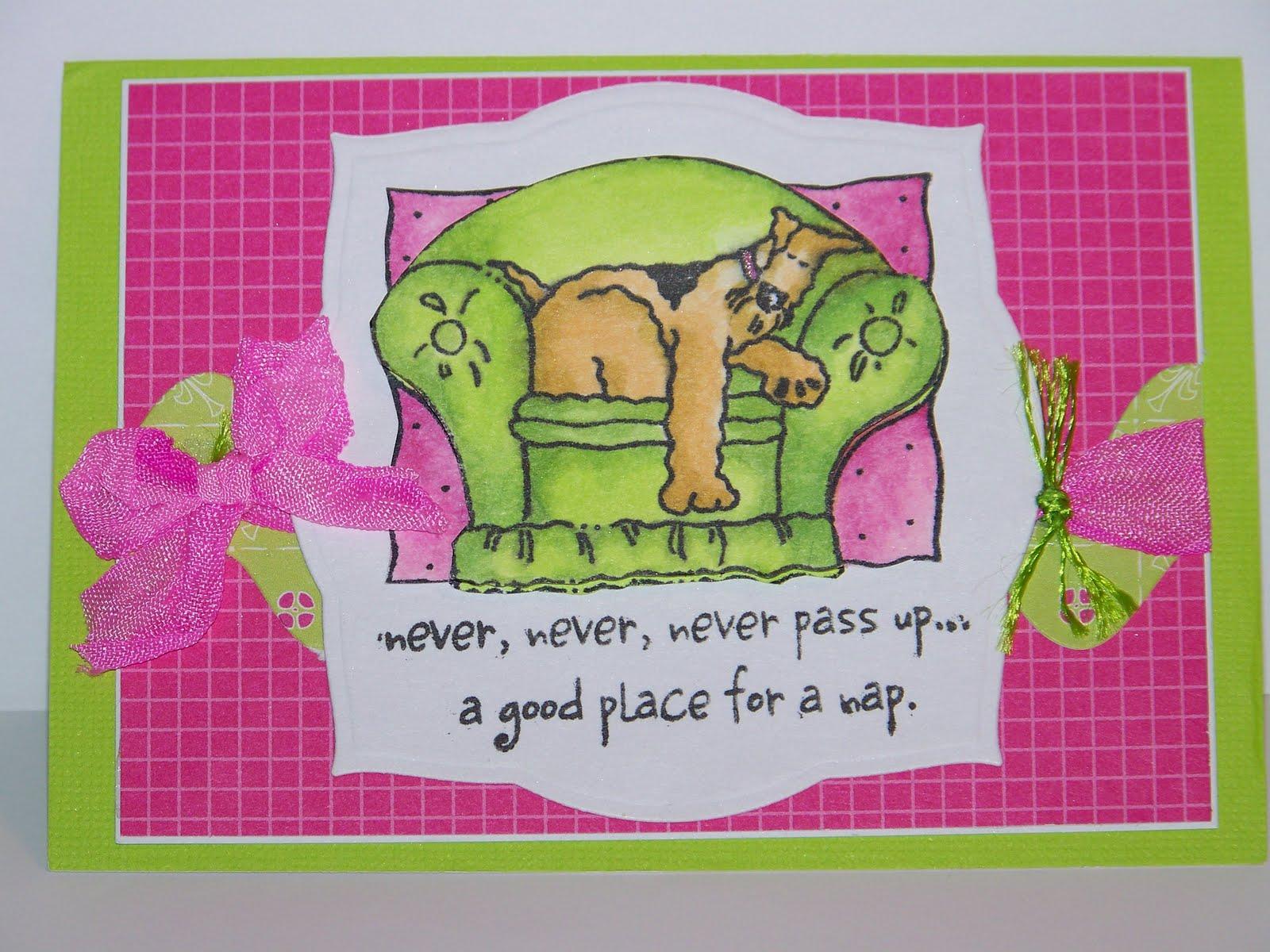Gypsy s 1st Birthday card & handmade at that