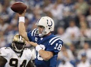 Saints vs. Colts - SuperBowl Betting Odds