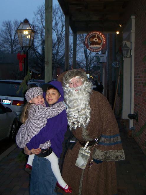 St.Charles Christmas parade.