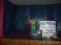karapitoios no karaoke em pardieiros