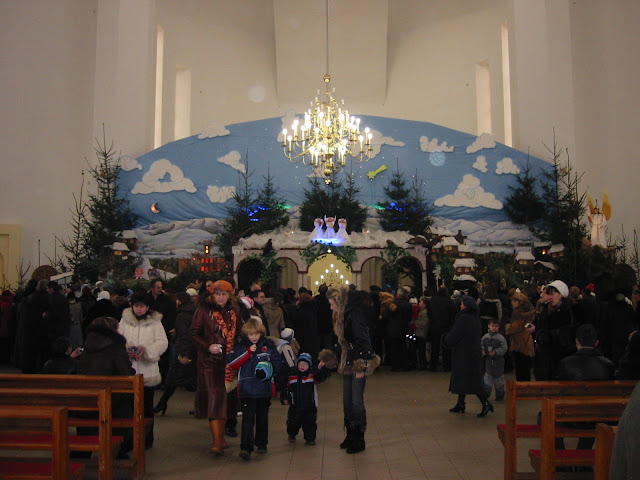 Christmas in St. Peter Church (Ternopil city, West Ukraine)