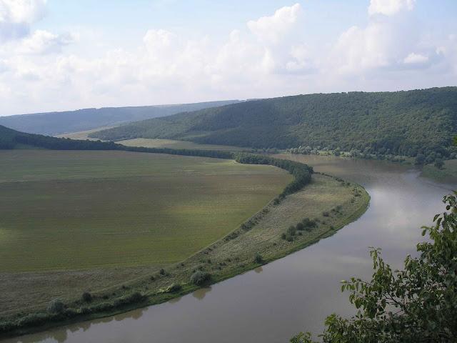 Dnister River, Ukraine