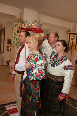 Olya and Jim's wedding in Ukraine. They met each other online