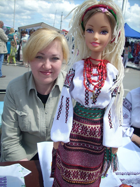 Natalia Borysiuk The Artist Creator Of Ukrainian Barbie Ternopil City Ukraine