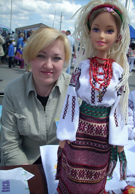 Natalia Borysiuk The Creator Of Ukrainian Barbie Outfit Ternopil West Ukraine
