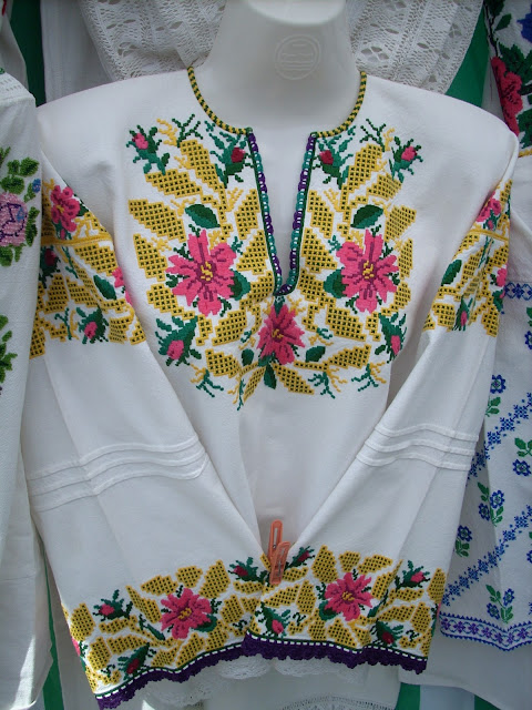 Gorgeous Embroidered Blouse Western Ukraine