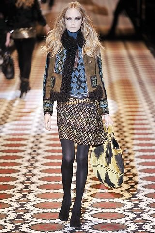 Gucci Ukrainian Theme Autumn Winter 2008 2009
