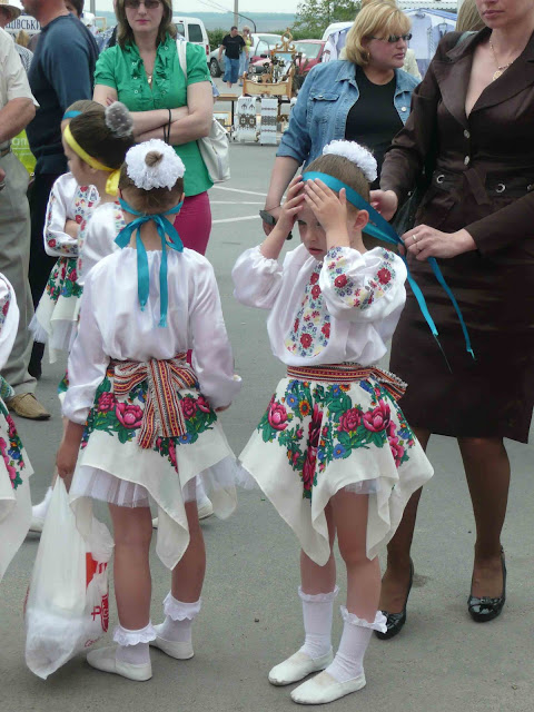 Girls Dance Ensemble Ternopil West Ukraine