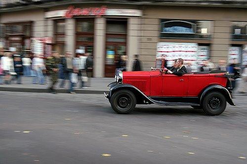Red Cabrio Lviv Western Ukraine