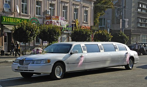 Wedding Limo Ivano Frankivsk West Ukraine