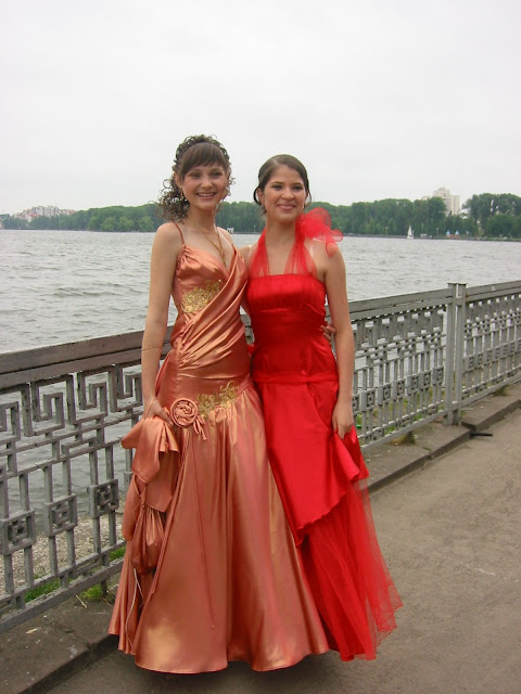 High School Graduation Ternopil Ukraine Pretty Girls