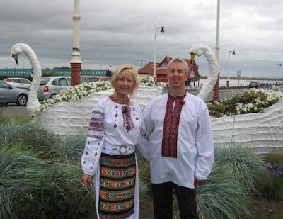 Ukrainian Woman British Man Met Online Got Married