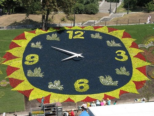 Kyiv Ukraine World Biggest Floral Clock