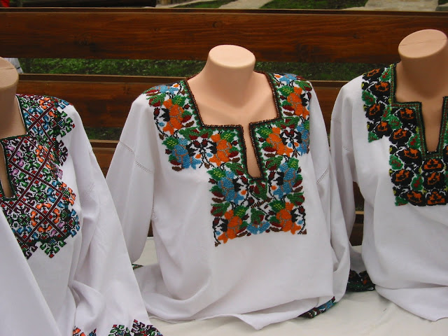 Beaded Shirts For Women Carpathian Mountains Western Ukraine