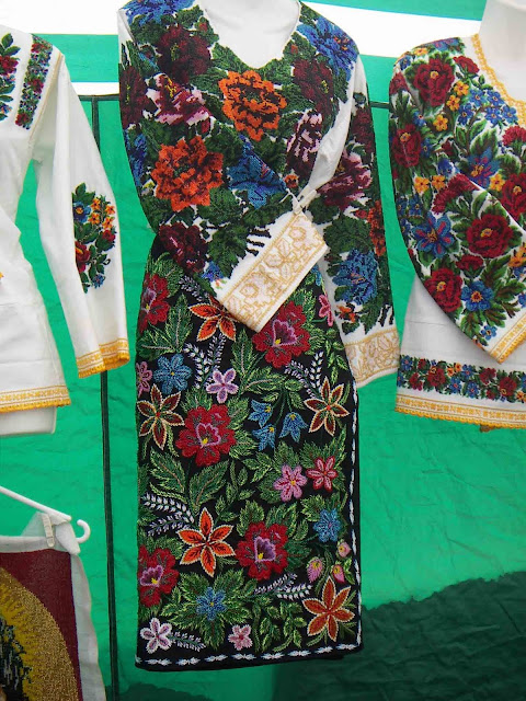 Bukovyna Beaded And Secuined Embroidery Western Ukraine