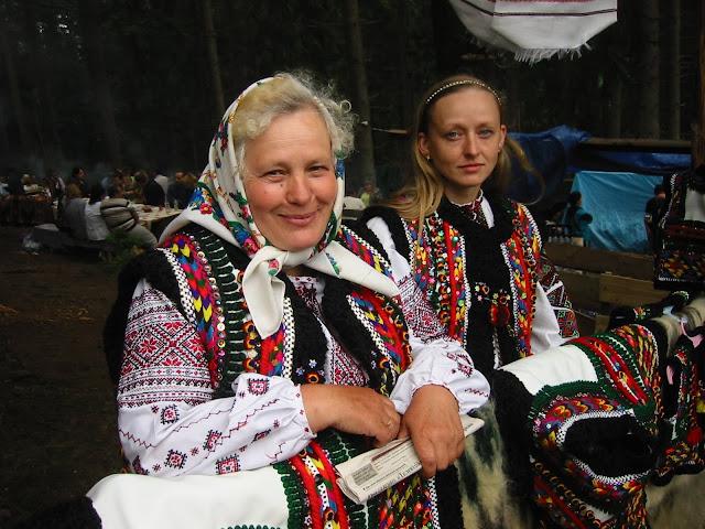 Ukrainian Carpathians Hutsul Women