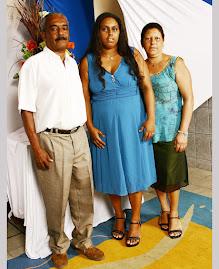 Foto: pais Josedino e Conceição
