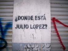 Aparición con vida YA! de Jorge Julio López